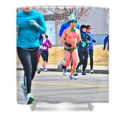 038 Shamrock Run Series Shower Curtain