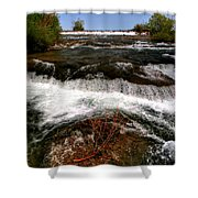04 To The Three Sisters Island Shower Curtain