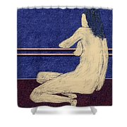 0452 Figurative Art Shower Curtain
