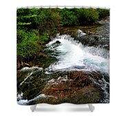 05 The Three Sisters Island Shower Curtain