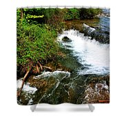 05 To The Three Sisters Island Shower Curtain