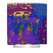 0527 Abstract Thought Shower Curtain