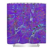 0528 Abstract Thought Shower Curtain