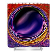 0538 Abstract Thought Shower Curtain