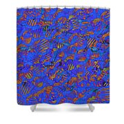 0539 Abstract Thought Shower Curtain