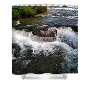 06 To The Three Sisters Island Shower Curtain