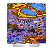0620 Abstract Thought Shower Curtain
