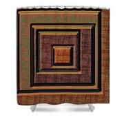 0622 Abstract Thought Shower Curtain