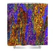0666 Abstract Thought Shower Curtain