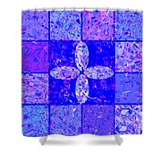 0674 Abstract Thought Shower Curtain