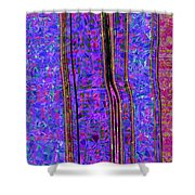 0679 Abstract Thought Shower Curtain