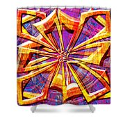0692 Abstract Thought Shower Curtain