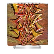 0695 Abstract Thought Shower Curtain