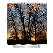 07 Sunset Shower Curtain