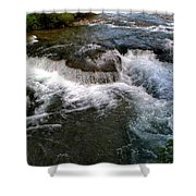 07 To The Three Sisters Island Shower Curtain
