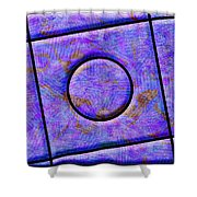 0711 Abstract Thought Shower Curtain