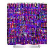 0714 Abstract Thought Shower Curtain