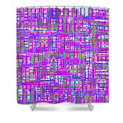 0716 Abstract Thought Shower Curtain
