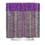 0718 Abstract Thought Shower Curtain