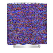 0723 Abstract Thought Shower Curtain