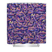 0724 Abstract Thought Shower Curtain