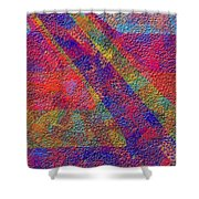 0726 Abstract Thought Shower Curtain