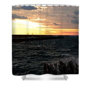 08 Sunset Shower Curtain