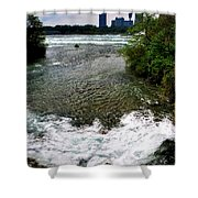 08 To The Three Sisters Island Shower Curtain