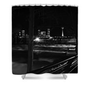 09 Niagara Falls Usa Rapids Series Shower Curtain