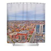 09 Series Of Buffalo Ny Via Birds Eye Shower Curtain