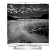 Llanddwyn Island Beach Shower Curtain