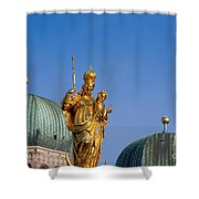 Towers Of Frauenkirche Shower Curtain