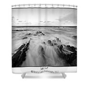 Welsh Coast Shower Curtain