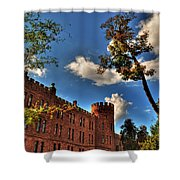 002 The 74th Regimental Armory In Buffalo New York Shower Curtain