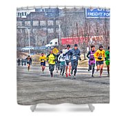 01 Shamrock Run Series Shower Curtain