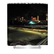 010 Niagara Falls Usa Rapids Series Shower Curtain