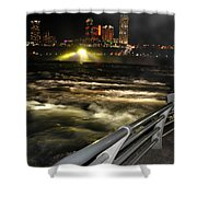 012 Niagara Falls Usa Rapids Series Shower Curtain