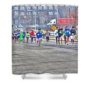 02 Shamrock Run Series Shower Curtain