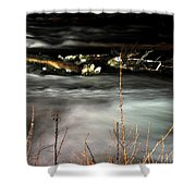 03 Niagara Falls Usa Rapids Series Shower Curtain