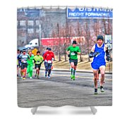 03 Shamrock Run Series Shower Curtain