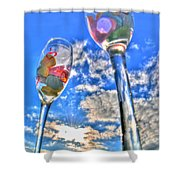 04 Love Is In The Air Shower Curtain