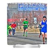 04 Shamrock Run Series Shower Curtain