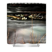 05 Niagara Falls Usa Rapids Series Shower Curtain