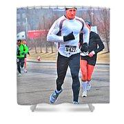 06 Shamrock Run Series Shower Curtain
