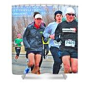 07 Shamrock Run Series Shower Curtain