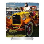 1915 Speedster Shower Curtain