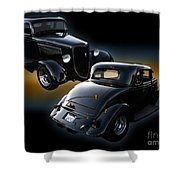 1934 Ford Coupe Shower Curtain