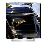 1937 Ford Model 78 Cabriolet Convertible By Darrin Shower Curtain by Gordon Dean II