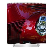 1941 Ford Truck Nose Shower Curtain