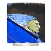 1948 Indian Chief Motorcycle Shower Curtain